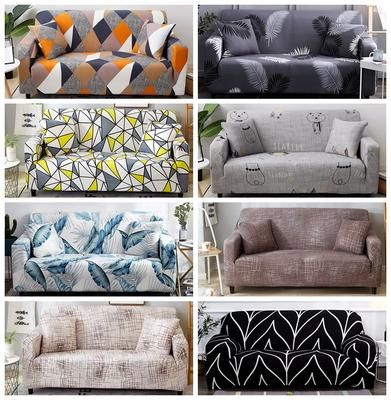 Sloping Arm King Back Chair Cover Elastic Armchair Wingback Wing Sofa Back Chair Cover Stretch Protector Slip Cover Protector In 2020 Arm Chair Covers Couch Covers Couch Covers Slipcovers