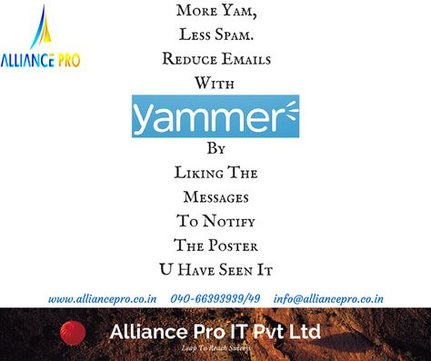 Yammer Enterprise Is The Service Being Used By Many Organizations