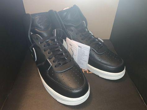 Nike Air Force 1 High PSNY Size 11 Men US Black Sail AO9292