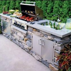 Outdoor Living Spaces And Ideas Free Shipping Save On Tax No Interest Financing Add To Cart For Deals An Outdoor Kitchen Outdoor Kitchen Design Outdoor Bbq