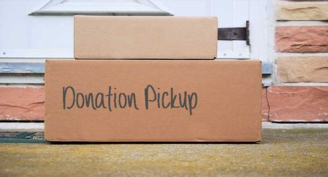 Schedule A Free Pickup Of Clothing Donations Donate Baby Clothes Donate Clothing Boxes