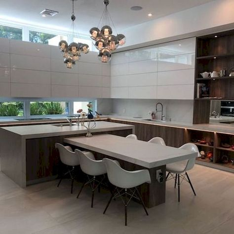 50 Stunning Modern Kitchen Design and Decor Ideas That Make Your Home Feel Beautiful