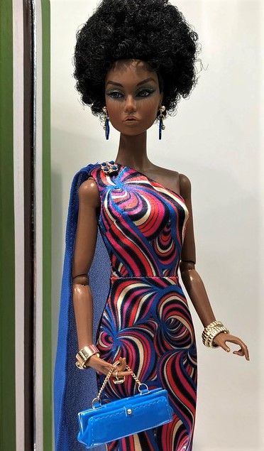 """SHOES AND BAG FROM RENDEZ-VOUS IN RIO 12/"""" POPPY PARKER LTD FASHION ROYALTY DOLL"""