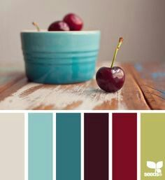 Beautiful Colors To Go With A Burgundy Couch