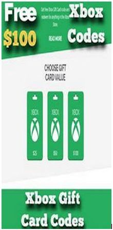 Free Xbox 100 Codes 2020 In 2020 Xbox Gift Card Xbox Gifts