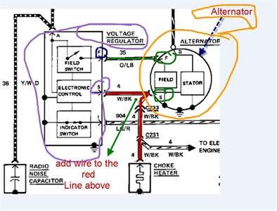 29 Ford Alternator Wiring Diagram Bookingritzcarlton Info Alternator Ford Trucks Diagram