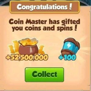 Spins on coin master 2019