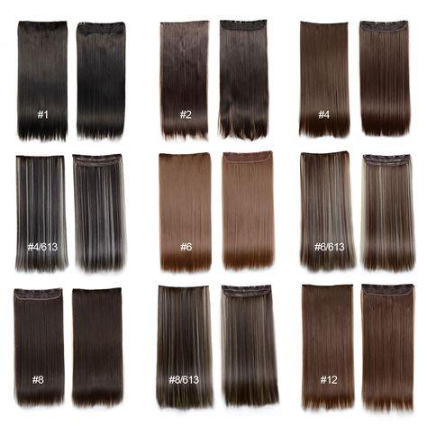 60 cm hair extensions clip