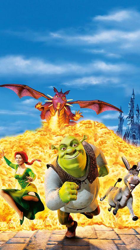 Shrek (2001) Phone Wallpaper   Moviemania