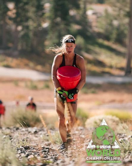 Rea Kolbl: The Mountain Goat and Sweetheart of The OCR World. Sky Runner, Gymnast, Champion of Spartan Mountain Series...