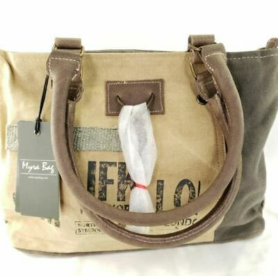 New Myra Bag Small Upcycled Canvas Leather Purse Handbag Travel Vintage Fashion Https Ift Tt 3guvm1y In 2020 Bags Boho Crossbody Bag Grey Shoulder Bag Buy latest range of small bags at myntra ? pinterest