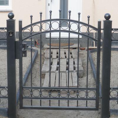 Bild Nr Z 6 Zaune Garten Zaun Und Tor Verzinkt Pulverbeschichtet Bei 15711 Konigs Wusterhausen Zaune Und Tore Zauntor Zaun