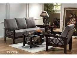 Image result for plain wooden sofa designs   Sofa set ...