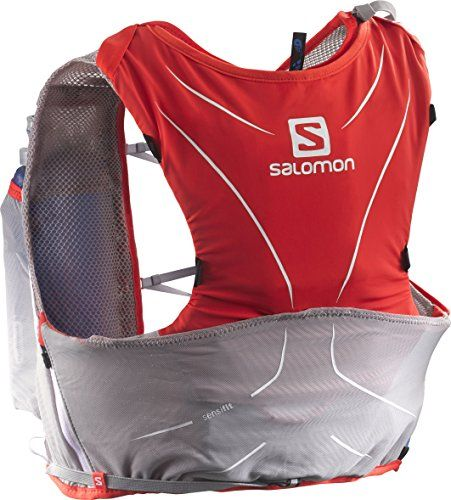 f39b941bea44 Salomon S-Lab ADV Skin 5 Set Racing Red / Aluminium / White XL >>> Want to  know more, click on the image.