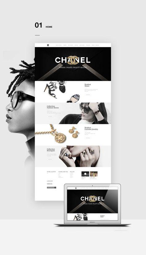 Se det här @Behance-projektet: \u201cCHANEL Redesign\u201d https://www.behance.net/gallery/45782887/CHANEL-Redesign