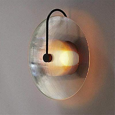 Modern Wall Lamp Aisle Wall Light Holder Glass Wall Lamp Living Room Bedroom With Decorative Lamp Creative Glass Wall Lights Frosted Glass Wall Light Wall Lamp