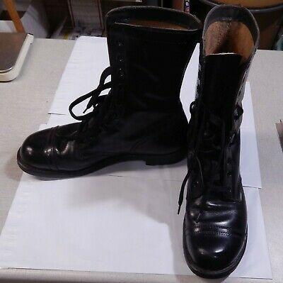 Ebay Ad Url Vietnam Era Mens Leather Combat Jump Boots Army Size