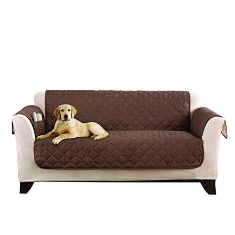 sure fit microfiber furniture friend loveseat slipcover chocolate sf44958 learn more by visiting the image linknoteit is affiliate link tou2026
