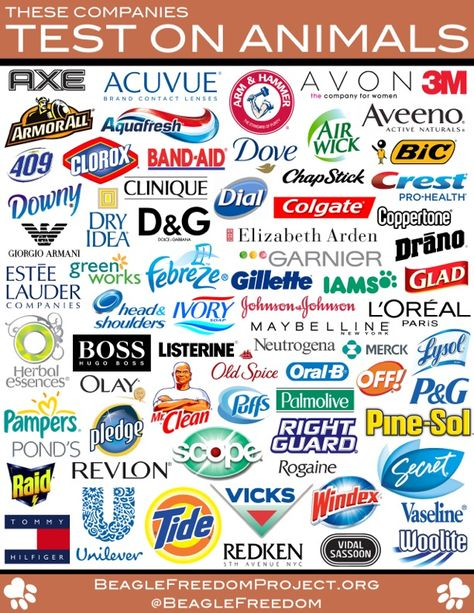 BOYCOTT COMPANIES THAT TEST PRODUCTS USING ANIMALS -- Buy cruelty-free instead.  Testing on animals is not necessary & better alternatives exist. Urge your reps to pass the Humane Cosmetics Act (H.R. 4148) to prohibit animal testing in the U.S. cosmetics industry & gradually eliminate marketing of cosmetics & ingredients tested on animals. The legislation will encourage development of new alternative testing methods & increase use of alternatives that already exist. June 2014