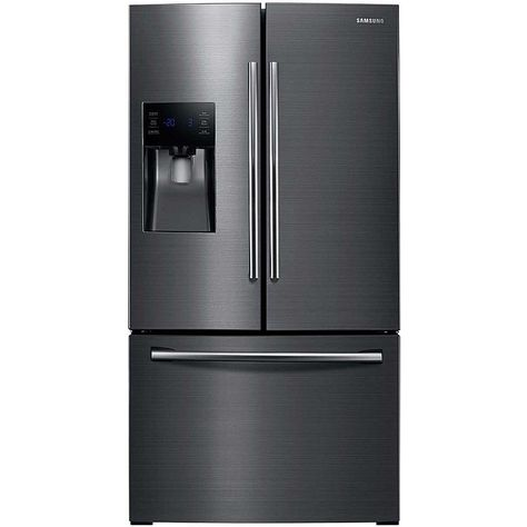 25 Cu Ft French Door Refrigerator With External Water And Ice