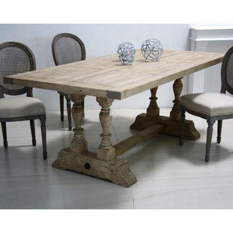 Tavolo legno shabby chic | Tavoli in legno, Tavolo e Tavoli ...