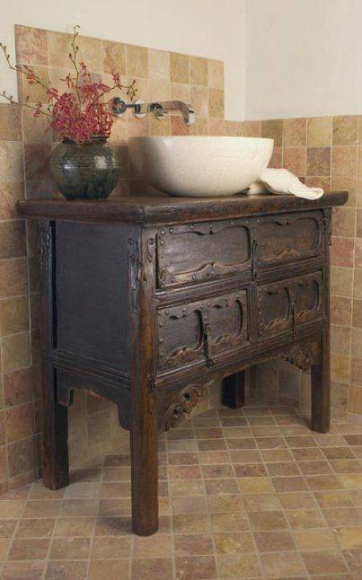 Pin By My 1929 Charmer Home Decor On Quick Saves In 2021 Vintage Bathroom Vanities Dresser Vanity Bathroom Diy Bathroom Design