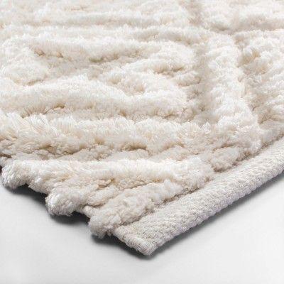 Bath Rug Fluffy Bathroom Rugs, White Fluffy Bathroom Rugs