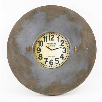 French Decor Perigold Small Wall Clock Paris Wall Clock Wall Clock