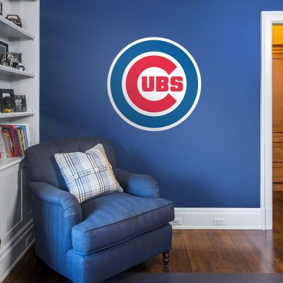 Chicago Cubs Logo Fathead Removable Wall Decals Logo Wall Wall Decals