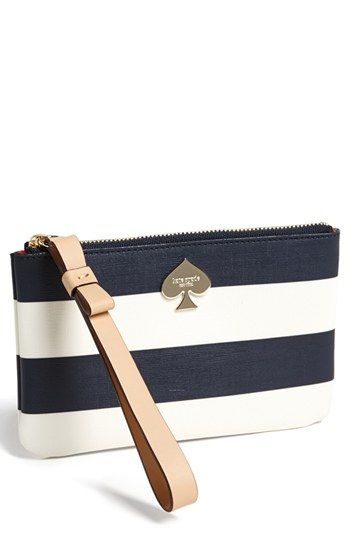 kate spade new york 'cobblestone park - bee' wristlet available at #Nordstrom