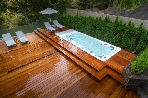investing in a swim spa means you get the benefits of a pool and, Gartenarbeit ideen