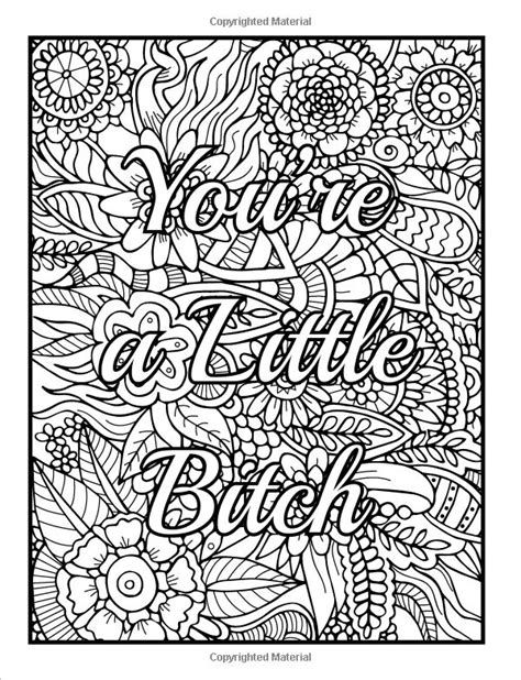 Images Swear Word Coloring Book
