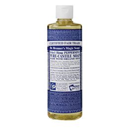 Dr. Bronner's Castille Soap... to use for just about everything!