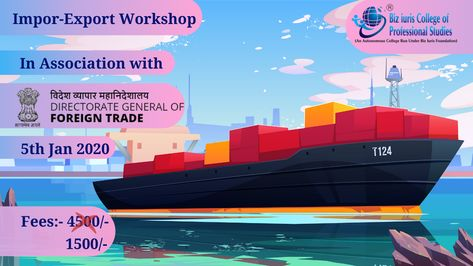 Import Export Workshop