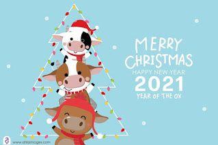 صور راس السنة الميلادية 2021 معايدات السنة الجديدة Happy New Year Merry Christmas And Happy New Year Merry Christmas