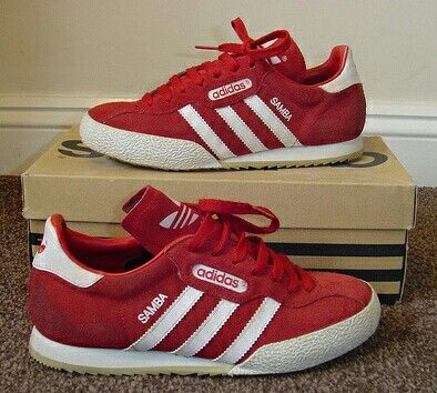 red adidas samba super trainers | Great