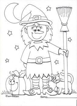 Halloween Coloring Pages Bundle 2 Halloween Coloring Pages Halloween Coloring Halloween Party Activities