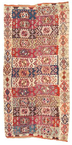 A Turkish Kilim Carpet Size Approximately 5ft 3in X 10ft 7in Carpet Size Kilim Carpets Carpet