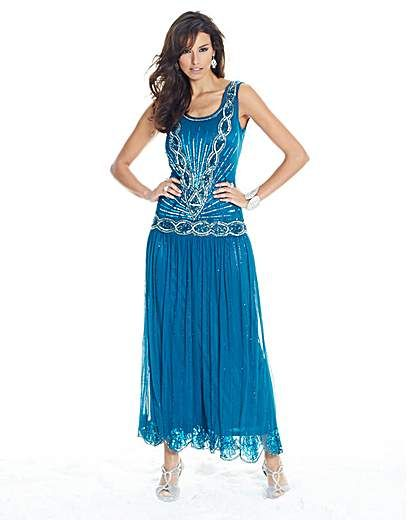 1c82c799f5a Joanna Hope Sequin Maxi Dress