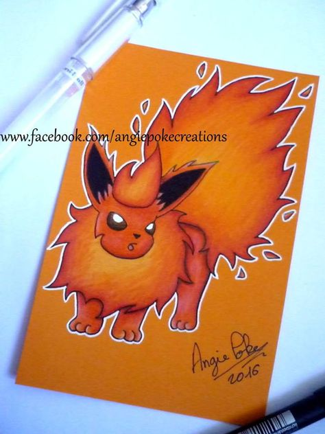 Dessin Pokemon Pyroli Pokemon Dessins Crayons De Couleur