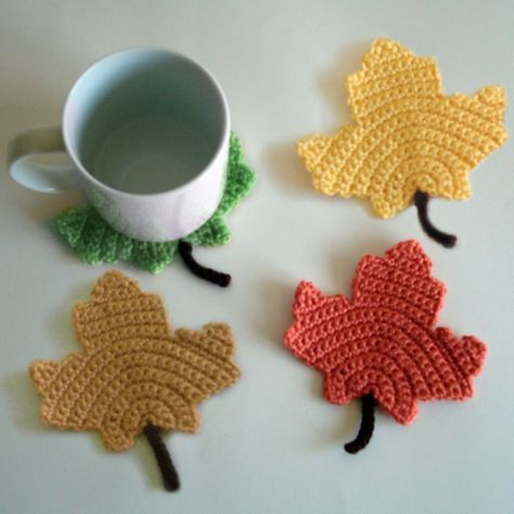 Maple Leaf Coasters.