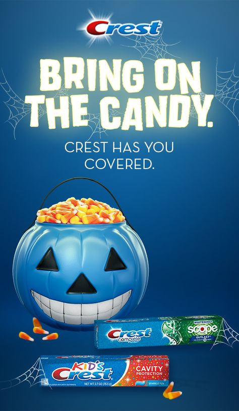 Share  some  treats  from  their  stash,  we  won't  tell!  Just  be  sure  you  turn  to  Crest  Complete  and  they  use  Kid's  Crest  with   Cavity Protection  afterward.  They  protect  against  cavities  so  you  can  end  Halloween  with  a  fresh  feeling  –  no  matter  how  much  you've  indulged.