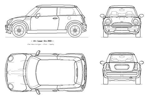 Cooper+Blueprint+Poster+Print £2000 Clásicos Pinterest Fiat - copy car blueprint website