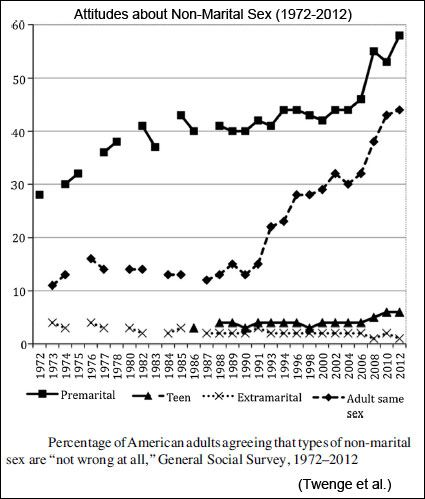 Changes In American Adults Sexual Behavior And Attitudes 1972