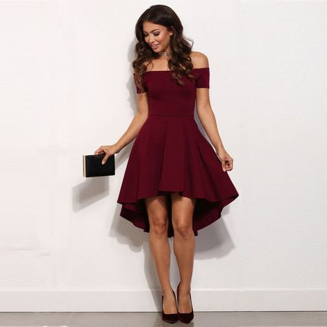 Cheap Hot Sexy Delle Donne Di Estate Casual Maniche Corte Dress Prom
