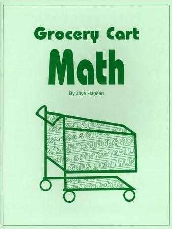 Grocery Cart Math Math Math Supplements Grocery