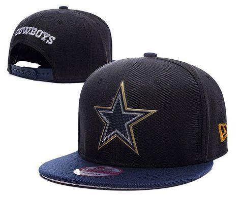 764ff91f85d Mens Dallas Cowboys New Era 2016 NFL Liquid Chrome Team Logo 9fifty Sports  Fashion Snapback Cap - Black   Navy