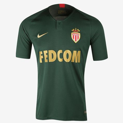 AS Monaco FC 2018 - 19 Away Nike FÚTBOL CALCIO SOCCER CLUB KIT SHIRT  FOOTBALL JERSEY FUSSBALL CAMISA TRIKOT MAILLOT MAGLIA BNWT 782083aa211