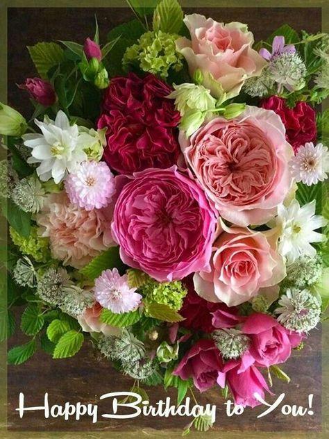 Geburtstag Blumen Von Marina Vedernikova Auf Happy Birthday
