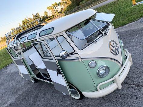 Volkswagen Bus Discover Volkswagen Type 2 for Sale Vw Camper For Sale, Volkswagen Bus Camper, Volkswagen Type 2, T3 Vw, Volkswagen Polo, Volkswagen Transporter, Vw Van For Sale, Vw Camper Vans, Volkswagen Vehicles